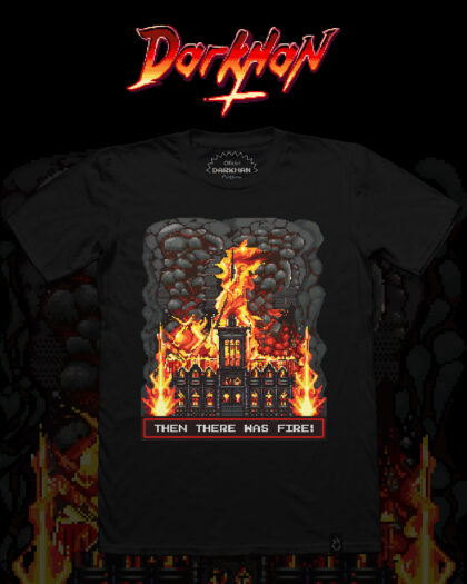 Darkhan - Then there was fire t-shirt