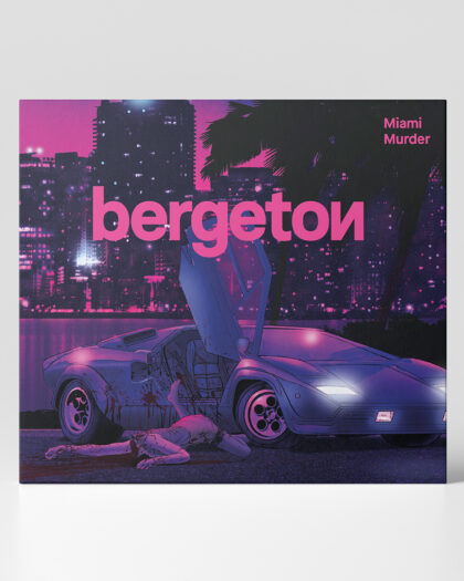 Bergeton - Miami Murder digipak