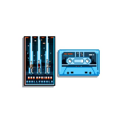 Red Sprites - Skull Castle Cassette